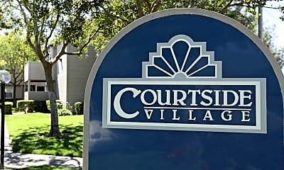 Community Signage, Courtside Village, 1
