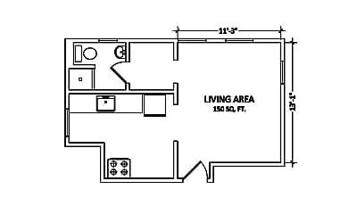 Building, 2930 Adeline St, 2