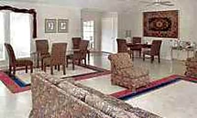 Living Room, Town and Country Apartments, 2
