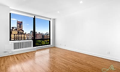 Living Room, 270 Park Ave S PH1B, 1