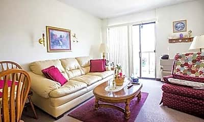 Living Room, Donora Towers, 0