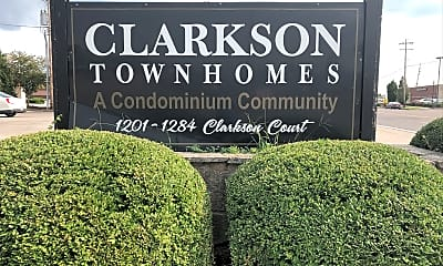 Clarkson townhomes, 1