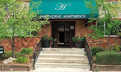 Hawthorne Apartments and Plaza, 1