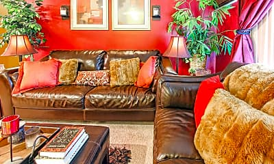 Living Room, Long Acres Apartments, 1