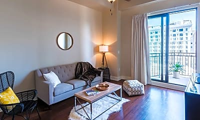 Living Room, 144 Elk Luxury Lofts, 0