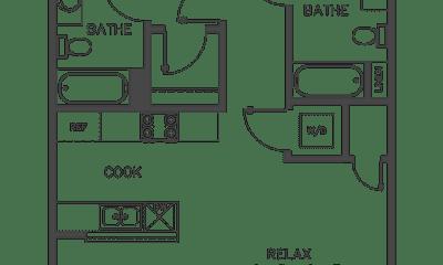 Kitchen, 11721 Runnymede St, 1
