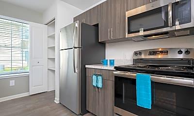 Kitchen, Monticello Apartments, 0