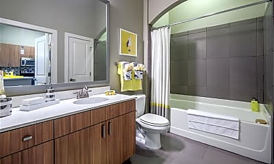 Bathroom, Elan City Center Apartments, 2