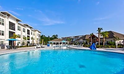 Pool, Azure Carnes Crossroads, 0