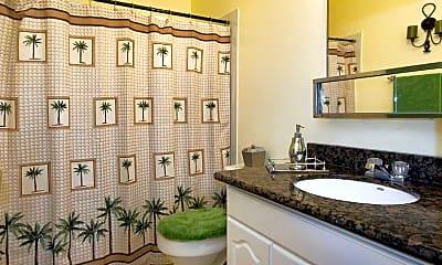 Bathroom, Sunset Garden Apartments, 2