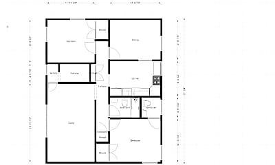 Building, 4321 Clairton Blvd, 1
