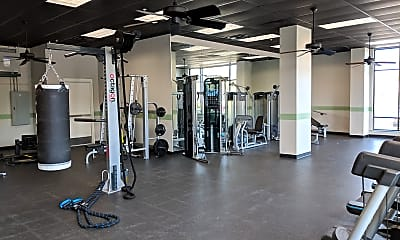 Fitness Weight Room, Heritage Quarters, 2