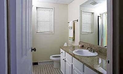 Bathroom, Towson Place Apartments, a Student Community, 2
