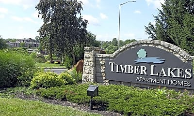 Community Signage, Timber Lakes At Red Bridge, 2