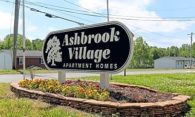 Community Signage, Ashbrook Village, 0
