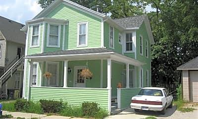 Building, 609 E Ann St, 1