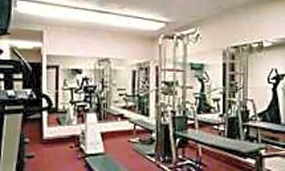 Fitness Weight Room, Butterfield Towers, 2