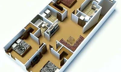 Upper Level Floor Plan, 4776 Lydia Grove, 1