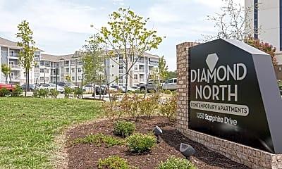 Community Signage, Diamond North Apartments, 2