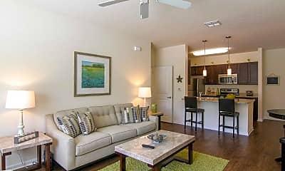 Living Room, Flats at Maverick Trails, 1