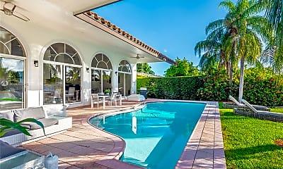 Pool, 13010 Biscayne Island Terrace, 1