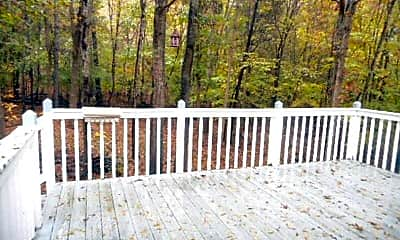 Patio / Deck, 3603 Hermitage Place Drive, 2