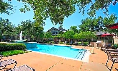 Pool, Somerset at Spring Creek Apartments, 2