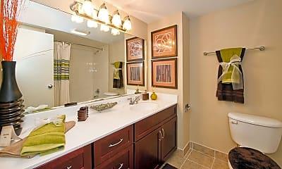 Bathroom, Twin Lake Towers Apartments, 1