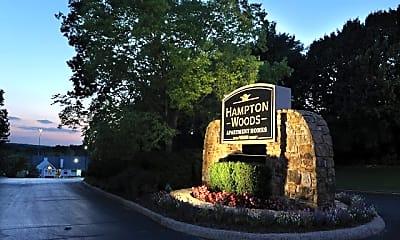 Community Signage, Hampton Woods, 1