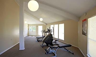 Fitness Weight Room, Village West, 2