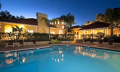 Pool, Grande Oasis at Carrollwood, 1