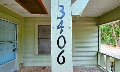 Building, 3406 De Soto St, 1