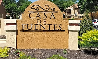 Community Signage, Casa De Fuentes, 2