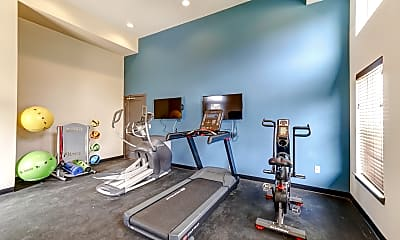 Fitness Weight Room, The Willows at Centreville, 2