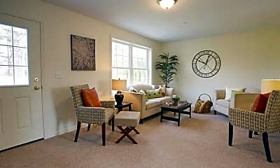 Living Room, Evergreen Way, 1