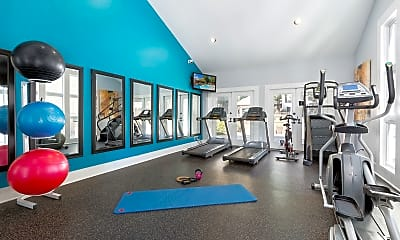 Fitness Weight Room, Paces Pointe, 1