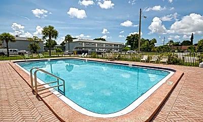 Pool, The Village at Boca East, 1