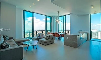 Living Room, 1300 S Miami Ave UPH7, 0