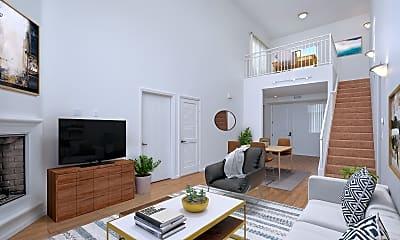 Living Room, Le Blanc, 1