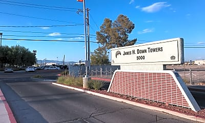 James Downs Towers, 1