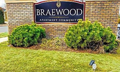 Community Signage, Braewood, 0