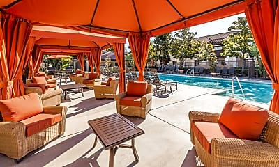 Pool, Rancho Alisal, 1