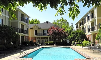 Pool, South Bluffs Apartments, 1