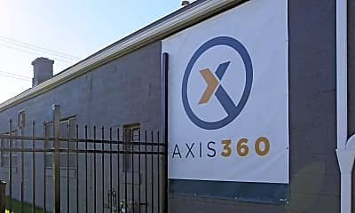 Community Signage, Axis 360, 2
