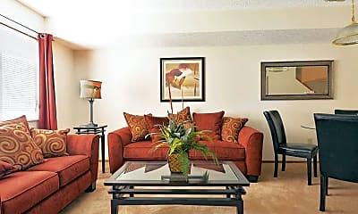 Living Room, Stoney Creek Apartments, 1