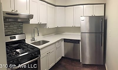 Kitchen, 310 6th Ave, 1