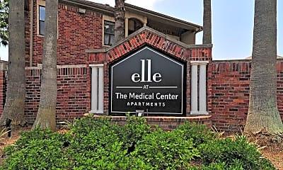 Community Signage, Elle at the Medical Center, 2