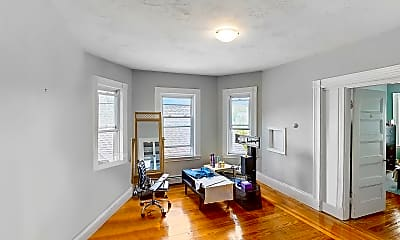 Living Room, 173 Rindge Avenue, Unit 3R, 2
