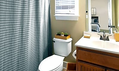 Bathroom, The Cottages of Hattiesburg, 2