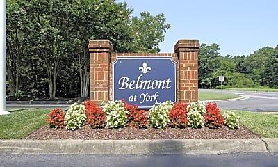 Community Signage, Belmont At York, 1